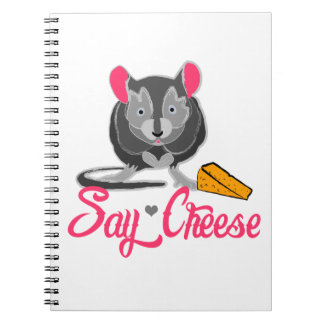 Say Cheese Mouse Notebook