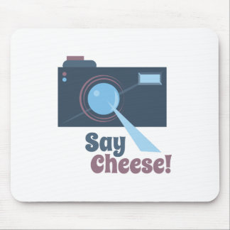 Say Cheese Mouse Pad