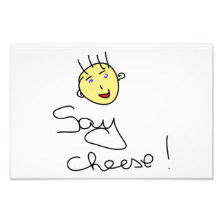 Say cheese art photo