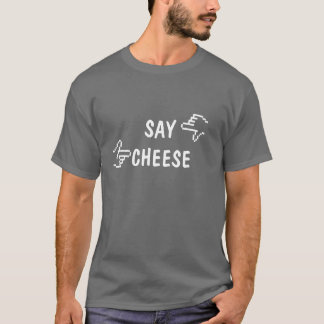 Say Cheese! Photographer Shirt