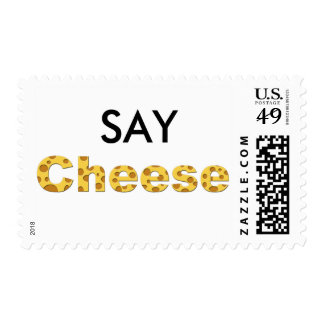 say cheese postage