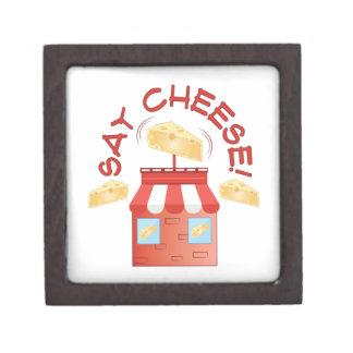 Say Cheese Premium Keepsake Box