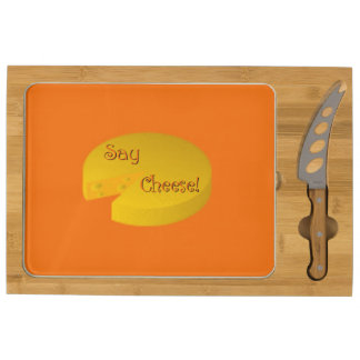 Say Cheese Rectangular Cheeseboard