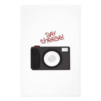 Say Cheese Stationery Paper