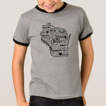 Say Cheese!  Wisconsin Ringer Tee