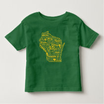Say Cheese!  Wisconsin Toddler Tee
