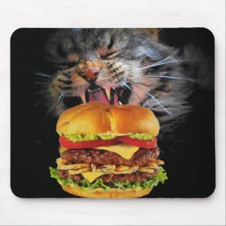 Say Goodbye, Mr. Hamburger Mouse Pad