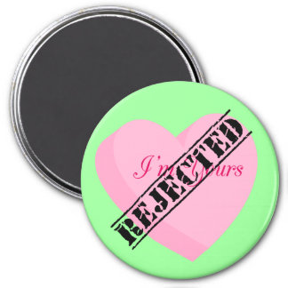 Say Happy Valentines with Rejection & Breakup Refrigerator Magnet