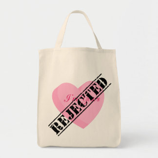 Say Happy Valentines with Rejection & Breakup Tote Bag