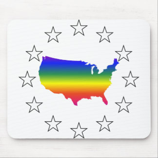 Say Hello to GLBT Queer America Mousepads