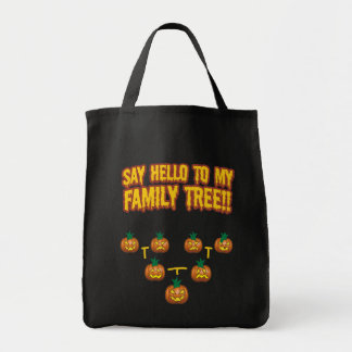 Say Hello To My family Tree Tote Bag