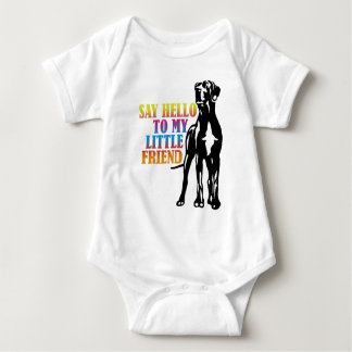 Say Hello To My Little Friend Baby Bodysuit