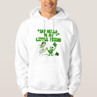 Say Hello To My Little Friend Hooded Pullover