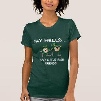 Say Hello to My Little Irish Friends T-Shirt