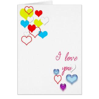 "Say ""I Love You"" Card"