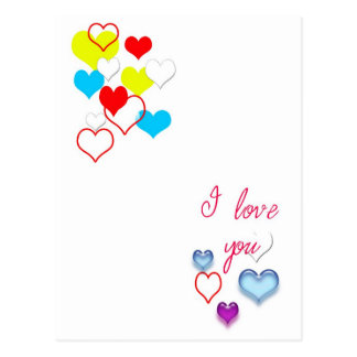 "Say ""I Love You"" Postcard"