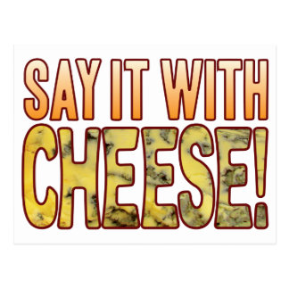 Say It Blue Cheese Postcard
