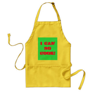 Say it simple adult apron