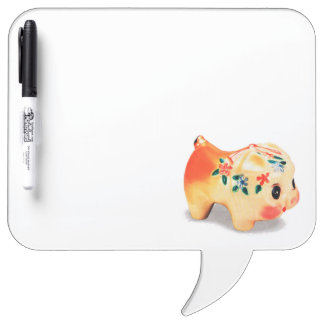 Say it to the bank! Dry-Erase board