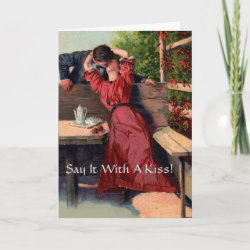 Say It With A Kiss! - Card