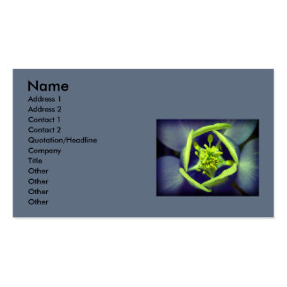 Say it with flowers Double-Sided standard business cards (Pack of 100)