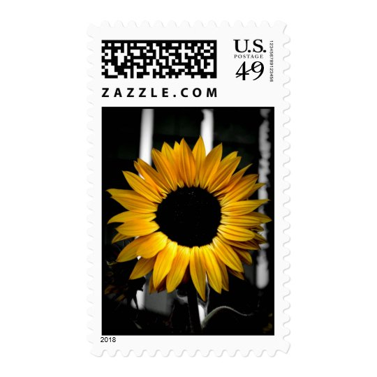 Say it with Sunflowers Postage Stamp