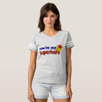 Say it with Ts Super Hero Mom By ZAZZ_IT T-shirt