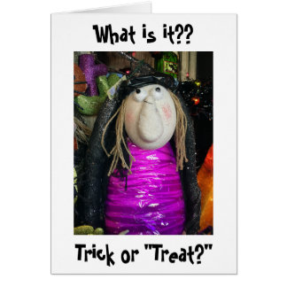 say itll be treat - What To Say In A Halloween Card