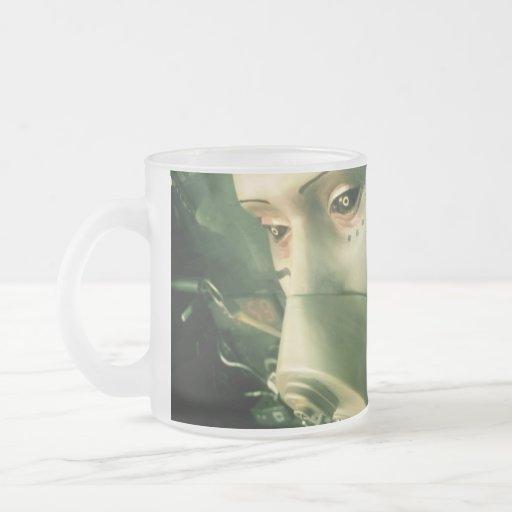 Say No Good 10 Oz Frosted Glass Coffee Mug