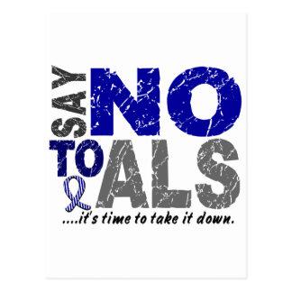 Say NO To ALS 1 Postcard