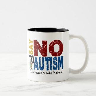 Say NO To Autism 1 Coffee Mug