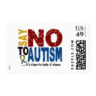 Say NO To Autism 1 Stamps