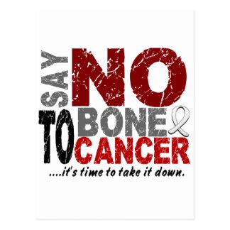 Say NO To Bone Cancer 1 Postcard