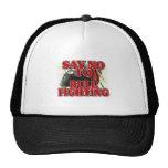 Say No To Bullfighting Trucker Hat