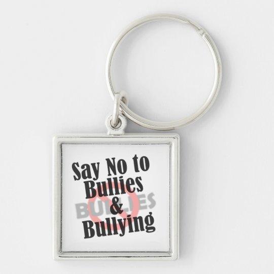 Say No to Bullies Keychain