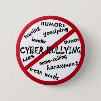 Say No to Bullying Button