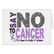 Say NO To Cancer 1 Card