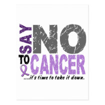 Say NO To Cancer 1 Postcard