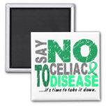 Say NO To Celiac Disease 1 Fridge Magnets