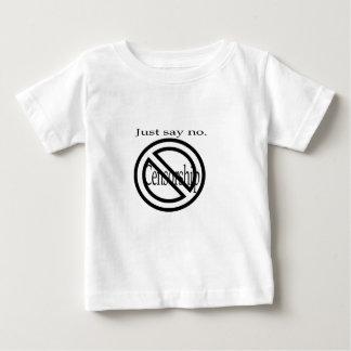 Say no to censorship apparel shirt
