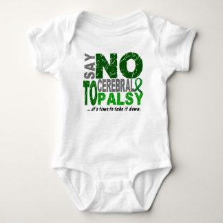 Say NO To Cerebral Palsy 1 Baby Bodysuit