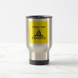 Say NO to Communism! 15 Oz Stainless Steel Travel Mug