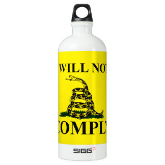 Say NO to Communism! Aluminum Water Bottle