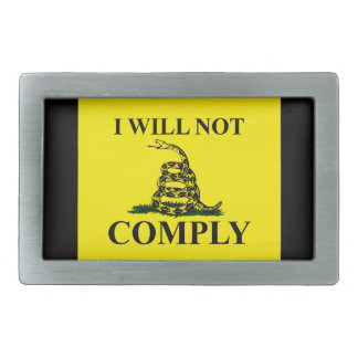 Say NO to Communism Belt Buckles