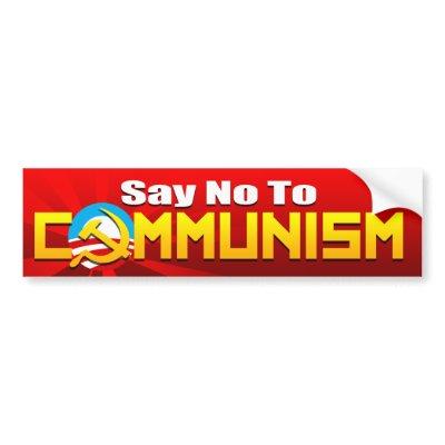 no to communism