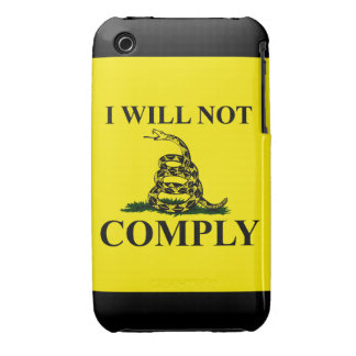 Say NO to Communism iPhone 3 Case-Mate Cases