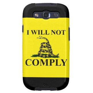 Say NO to Communism Galaxy S3 Case
