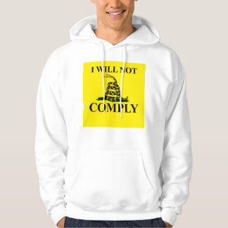 Say NO to Communism! Hooded Pullover