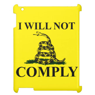 Say NO to Communism iPad Cover