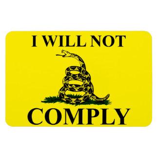 Say NO to Communism! Vinyl Magnets